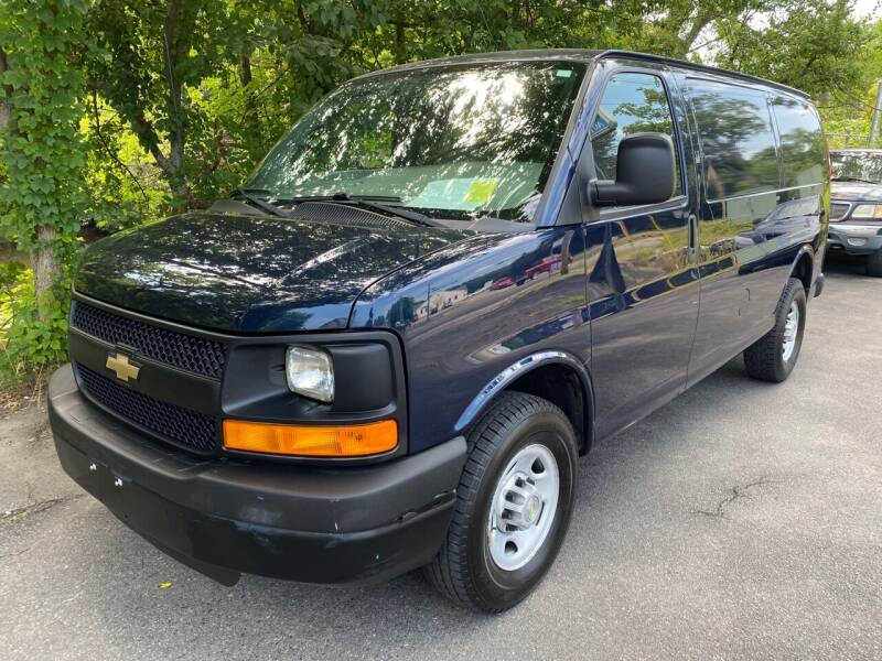 2014 Chevrolet Express Cargo for sale at BORGES AUTO CENTER, INC. in Taunton MA