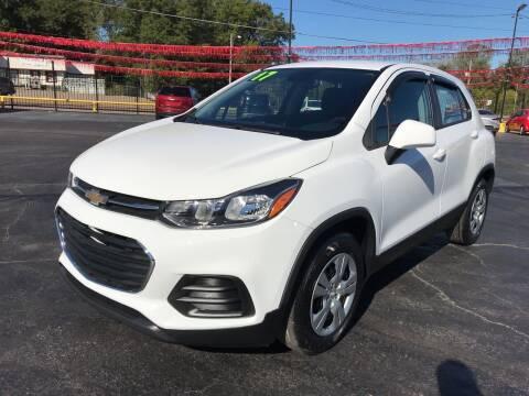 2017 Chevrolet Trax for sale at IMPALA MOTORS in Memphis TN