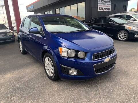 2013 Chevrolet Sonic for sale at JQ Motorsports East in Tucson AZ