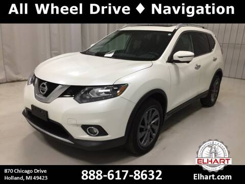 2016 Nissan Rogue for sale at Elhart Automotive Campus in Holland MI