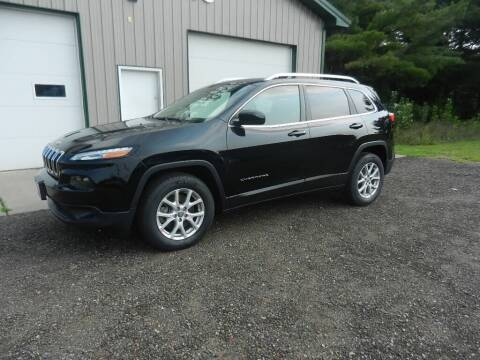 2018 Jeep Cherokee for sale at Siren Motors Inc. in Siren WI