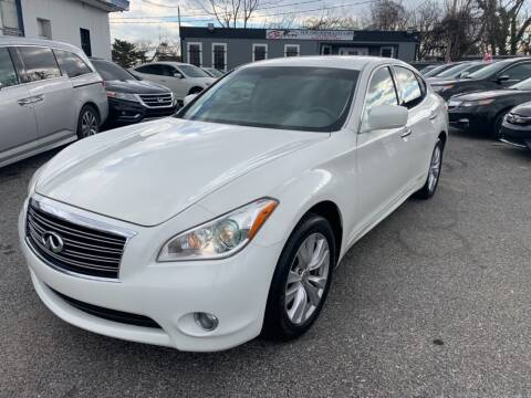2011 Infiniti M37 for sale at Sincere Motors LLC in Baltimore MD