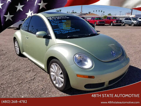 2008 Volkswagen New Beetle for sale at 48TH STATE AUTOMOTIVE in Mesa AZ