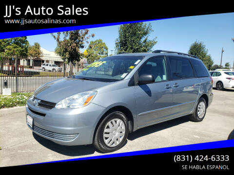 2005 Toyota Sienna for sale at JJ's Auto Sales in Salinas CA