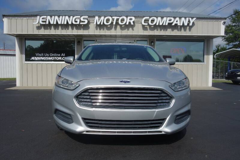 2014 Ford Fusion for sale at Jennings Motor Company in West Columbia SC