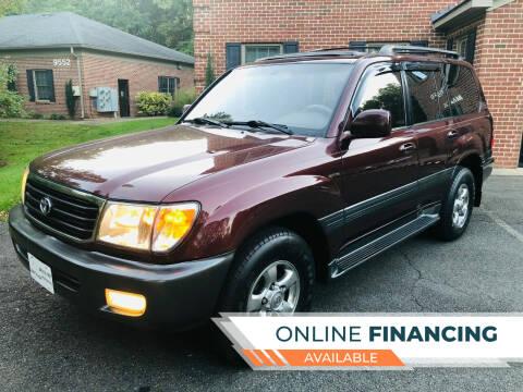 2001 Toyota Land Cruiser for sale at White Top Auto in Warrenton VA