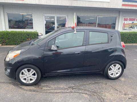 2013 Chevrolet Spark for sale at Traditional Autos in Dallas TX