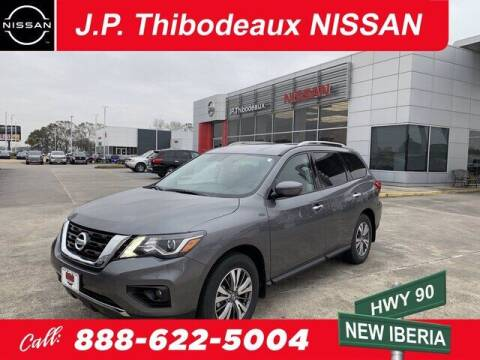 2020 Nissan Pathfinder for sale at J P Thibodeaux Used Cars in New Iberia LA