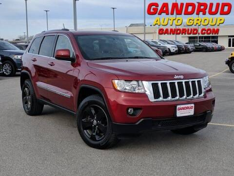 2012 Jeep Grand Cherokee for sale at Gandrud Dodge in Green Bay WI