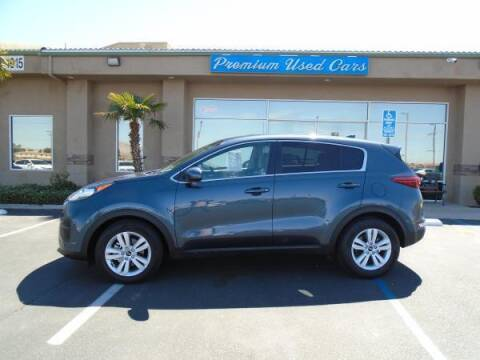 2019 Kia Sportage for sale at Family Auto Sales in Victorville CA