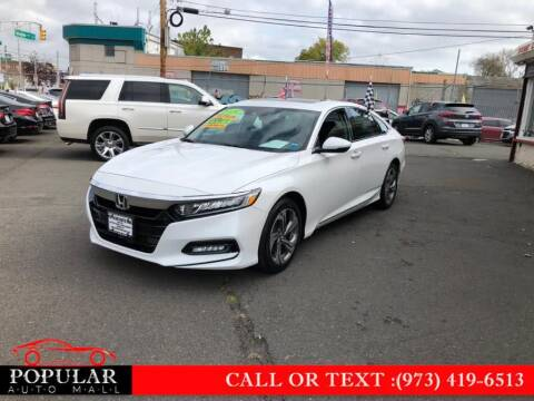 2018 Honda Accord for sale at Popular Auto Mall Inc in Newark NJ