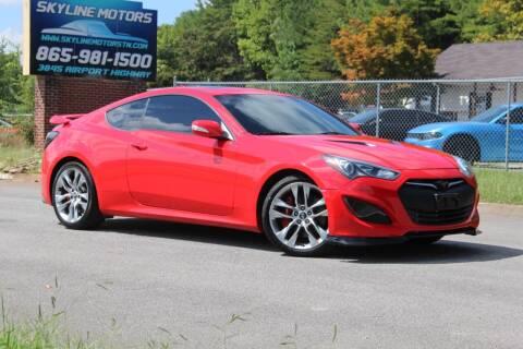 2013 Hyundai Genesis Coupe for sale at Skyline Motors in Louisville TN
