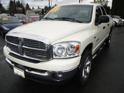 2008 Dodge Ram Pickup 1500 for sale at GMA Of Everett in Everett WA