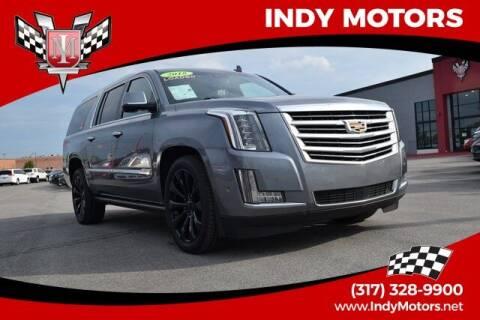 2018 Cadillac Escalade ESV for sale at Indy Motors Inc in Indianapolis IN