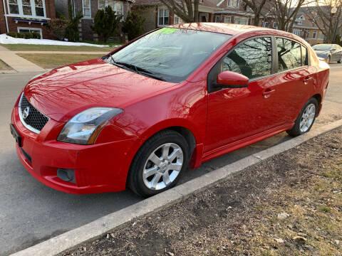 2012 Nissan Sentra for sale at Apollo Motors INC in Chicago IL