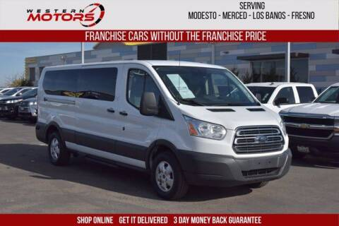 2018 Ford Transit Passenger for sale at Choice Motors in Merced CA
