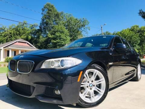 2012 BMW 5 Series for sale at E-Z Auto Finance in Marietta GA