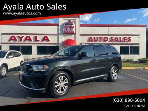 2014 Dodge Durango for sale at Ayala Auto Sales in Aurora IL