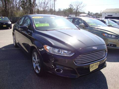 2013 Ford Fusion for sale at Easy Ride Auto Sales Inc in Chester VA