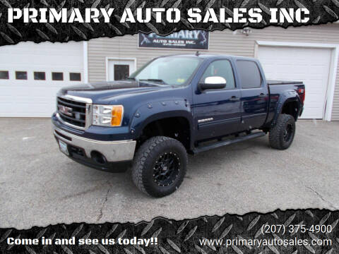 2011 GMC Sierra 1500 for sale at PRIMARY AUTO SALES INC in Sabattus ME