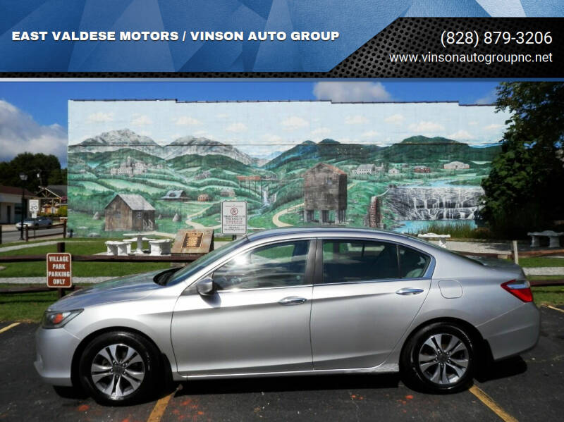 2013 Honda Accord for sale at EAST VALDESE MOTORS / VINSON AUTO GROUP in Valdese NC