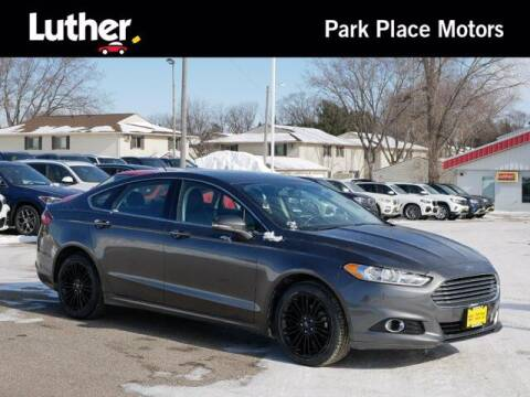 2016 Ford Fusion for sale at Park Place Motor Cars in Rochester MN