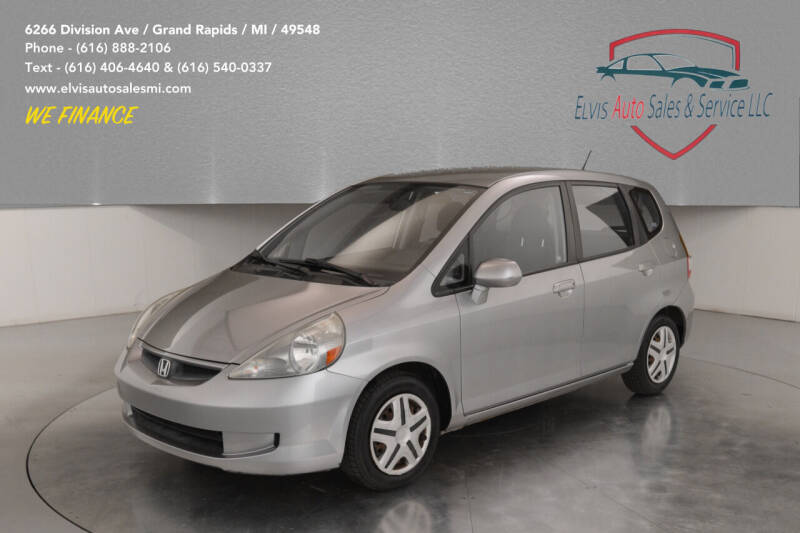 2007 Honda Fit for sale at Elvis Auto Sales LLC in Grand Rapids MI