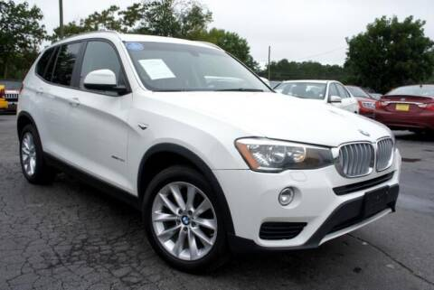 2015 BMW X3 for sale at CU Carfinders in Norcross GA