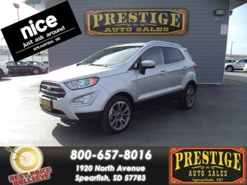 2019 Ford EcoSport for sale at PRESTIGE AUTO SALES in Spearfish SD
