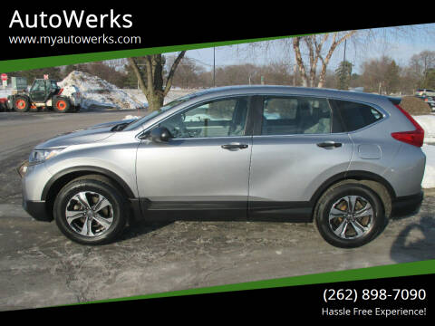 2018 Honda CR-V for sale at AutoWerks in Sturtevant WI