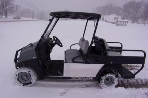2017 Club Car Utility Cart Carry All 500 4 Passenger