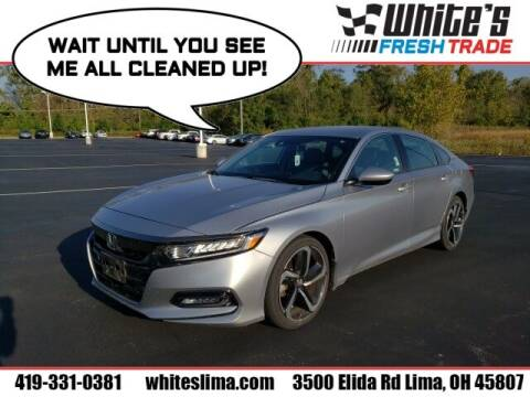2019 Honda Accord for sale at White's Honda Toyota of Lima in Lima OH