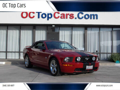 2009 Ford Mustang for sale at OC Top Cars in Irvine CA