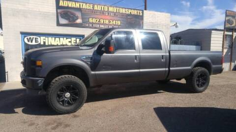 2008 Ford F-250 Super Duty for sale at Advantage Motorsports Plus in Phoenix AZ