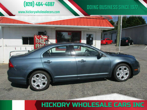2011 Ford Fusion for sale at Hickory Wholesale Cars Inc in Newton NC