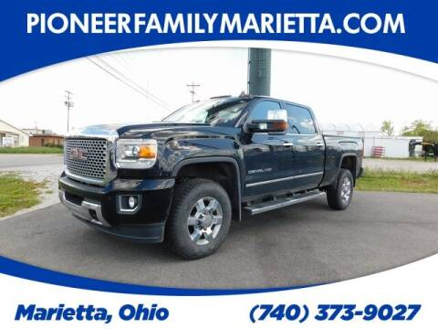 2016 GMC Sierra 3500HD for sale at Pioneer Family preowned autos in Williamstown WV