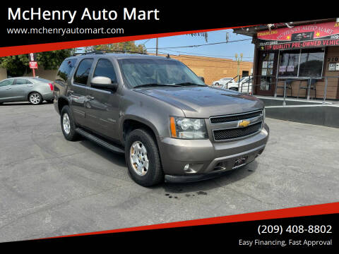 2011 Chevrolet Tahoe for sale at McHenry Auto Mart in Turlock CA
