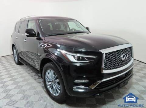 2019 Infiniti QX80 for sale at Autos by Jeff Scottsdale in Scottsdale AZ