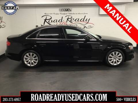 2015 Audi A4 for sale at Road Ready Used Cars in Ansonia CT
