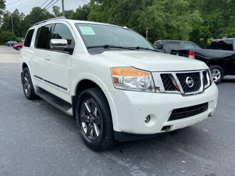 2014 Nissan Armada for sale at Luxury Auto Innovations in Flowery Branch GA