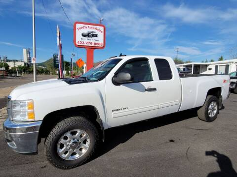 2012 Chevrolet Silverado 2500HD for sale at Ford's Auto Sales in Kingsport TN