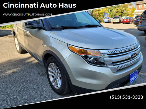 2011 Ford Explorer for sale at Cincinnati Auto Haus in Cincinnati OH