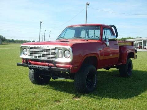 1977 Dodge POWER WAGON for sale at Custom Rods and Muscle in Celina OH