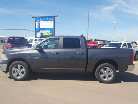 2016 RAM Ram Pickup 1500 for sale at South Plains Autoplex by RANDY BUCHANAN in Lubbock TX