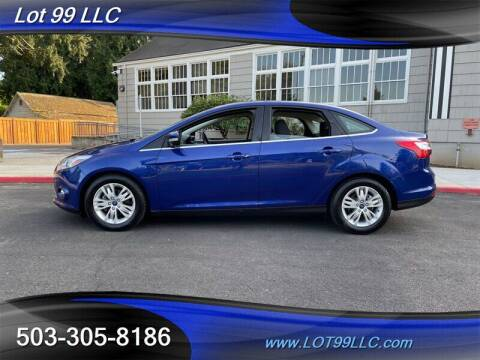 2012 Ford Focus for sale at LOT 99 LLC in Milwaukie OR