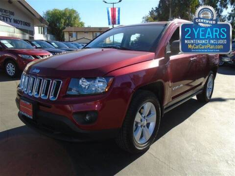 2016 Jeep Compass for sale at Centre City Motors in Escondido CA
