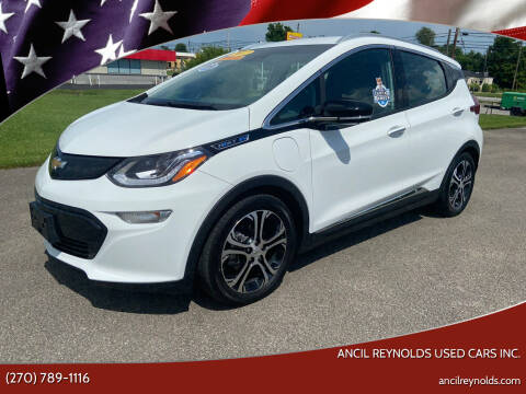 2017 Chevrolet Bolt EV for sale at Ancil Reynolds Used Cars Inc. in Campbellsville KY
