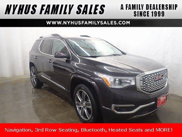 2017 GMC Acadia for sale at Nyhus Family Sales in Perham MN