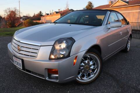 2007 Cadillac CTS for sale at California Auto Sales in Auburn CA