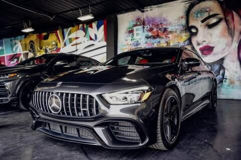 2019 Mercedes-Benz AMG GT for sale at STS Automotive - Miami, FL in Miami FL